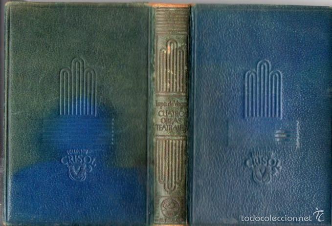 Libros de segunda mano: AGUILAR CRISOL Nº 32 : LOPE DE VEGA - LA DAMA BOBA Y OTRAS OBRAS (1944) - Foto 2 - 57363792