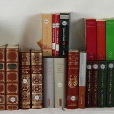 Libros de segunda mano: 7632- COLECCION DE 36 EDICIONES DEL QUIJOTE. MIGUEL DE CERVANTES. 2004. . Lote 57451805