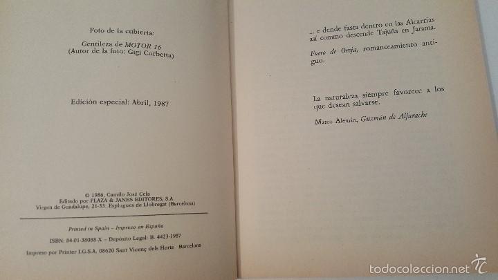 Libros de segunda mano: NUEVO VIAJE A LA ALCARRIA - (ED.ESPECIAL ABRIL 1987) - Foto 2 - 57542138