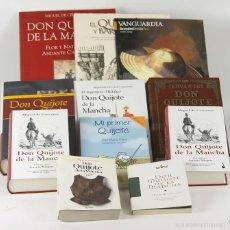 Libros de segunda mano: 7678 - COLECCIÓN DE 11 EDICIONES DEL QUIJOTE. (VER DESCRIP). MIGUEL DE CERVANTES. 2005.. Lote 57573417
