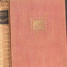 Libros de segunda mano: BLAS PASCAL . PENSAMIENTOS SOBRE LA RELIGIÓN Y OTROS ASUNTOS (IBERIA, 1955). Lote 57594837