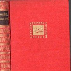 Libros de segunda mano: GOTTHOLD EFRAIM LESSING : LAOCOONTE O SOBRE LOS LÍMITES DE LA PINTURA Y LA POESÍA (IBERIA, 1957). Lote 57596465