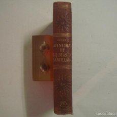 Libros de segunda mano: LESAGE. AVENTURAS DE GIL BLAS DE SANTILLANA.1960. ENCUADERNACION PIEL.PAPEL BIBLIA. Lote 57608661