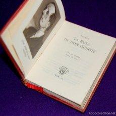 Libros de segunda mano: CRISOLIN ORIGINAL Nº 04. AZORIN. LA RUTA DE DON QUIJOTE. AÑO 1951. 6X8CM. CRISOL AGUILAR. . Lote 57661016