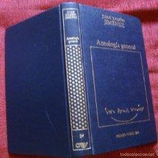 Libros de segunda mano: JUAN RAMÓN JIMÉNEZ ANTOLOGÍA GENERAL ORBIS 1983 ¡OFERTA MAS DE TRES LIBROS DESCUENTO 25%!. Lote 57697397