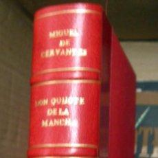 Libros de segunda mano: DON QUIJOTE DE LA MANCHA - MIGUEL DE CERVANTES - SEGRELLES - BUENA ENCUADERNACION. Lote 196444125