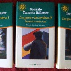 Libros de segunda mano: LOS GOZOS LAS SOMBRAS TORRENTE BALLESTER-EL SEÑOR LLEGA-DONDE DA LA VUELTA EL AIRE-LA PASCUA TRISTE. Lote 57715238