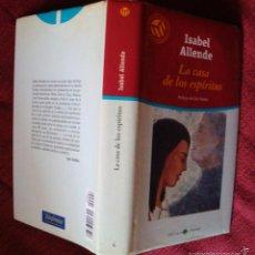 Libros de segunda mano: LA CASA DE LOS ESPÍRITUS ISABEL ALLENDE BIBLIOTECA MUNDO 2001 ¡OFERTA MAS DE 2 LIBROS DESCUENTO 20%!. Lote 57715359
