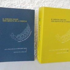 Libros de segunda mano: DON QUIJOTE DE LA MANCHA. NOTAS AL QUIJOTE DE JOSE LOPEZ NAVIO. EDICION DE JOSE LUIS PEREZ LOPEZ.. Lote 58077908