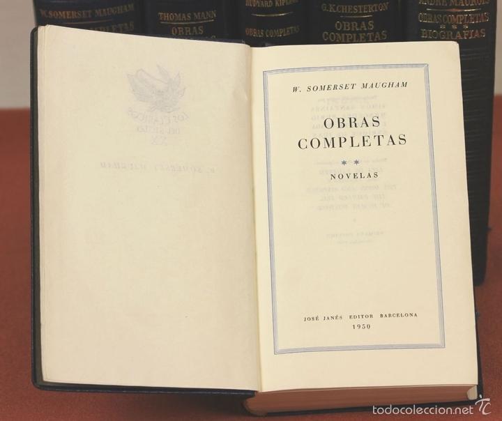 Libros de segunda mano: 7801 - LOS CLÁSICOS DEL SIGLO XX. 7 TOMOS(VER DESCRIP). VV. AA. EDIT. JANÉS. 1950/52. - Foto 3 - 151078377