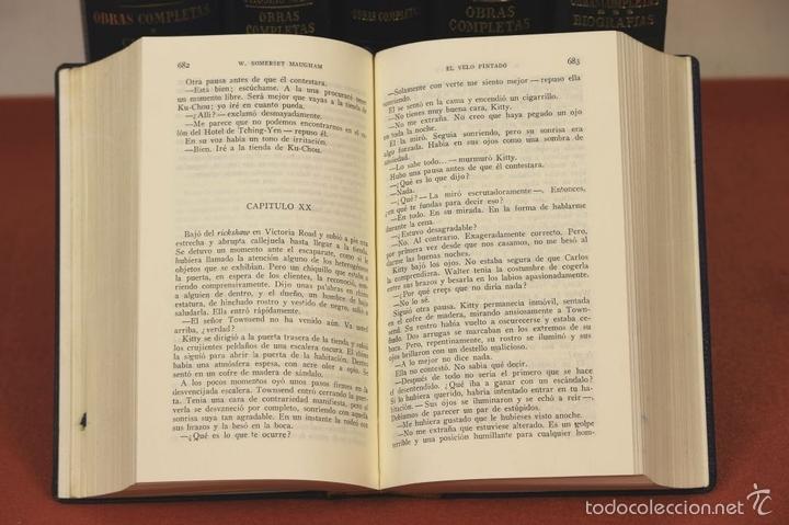Libros de segunda mano: 7801 - LOS CLÁSICOS DEL SIGLO XX. 7 TOMOS(VER DESCRIP). VV. AA. EDIT. JANÉS. 1950/52. - Foto 4 - 151078377