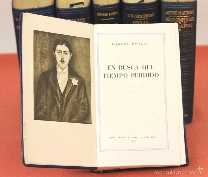 Libros de segunda mano: 7801 - LOS CLÁSICOS DEL SIGLO XX. 7 TOMOS(VER DESCRIP). VV. AA. EDIT. JANÉS. 1950/52. - Foto 5 - 151078377