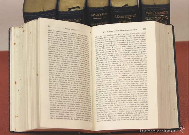 Libros de segunda mano: 7801 - LOS CLÁSICOS DEL SIGLO XX. 7 TOMOS(VER DESCRIP). VV. AA. EDIT. JANÉS. 1950/52. - Foto 6 - 151078377