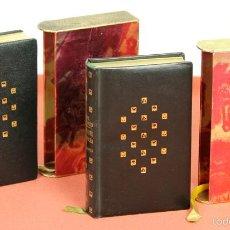 Libros de segunda mano: LP-284 - DON QUIJOTE DE LA MANCHA. 2 TOMOS(VER DESCRIP). CERVANTES. EDI. PLAZA Y JANÉS. 1961.. Lote 58243556