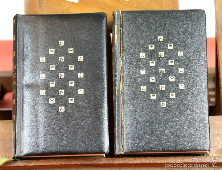 Libros de segunda mano: LP-284 - DON QUIJOTE DE LA MANCHA. 2 TOMOS(VER DESCRIP). CERVANTES. EDI. PLAZA Y JANÉS. 1961. - Foto 3 - 58243556