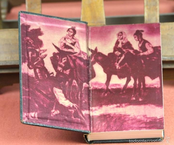 Libros de segunda mano: LP-284 - DON QUIJOTE DE LA MANCHA. 2 TOMOS(VER DESCRIP). CERVANTES. EDI. PLAZA Y JANÉS. 1961. - Foto 4 - 58243556