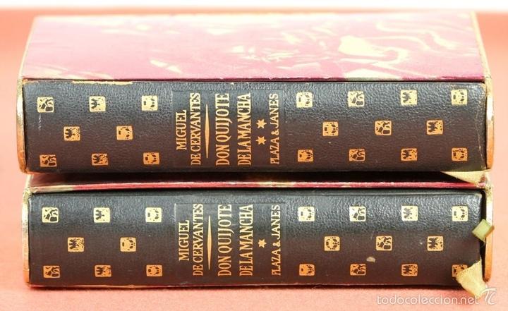 Libros de segunda mano: LP-284 - DON QUIJOTE DE LA MANCHA. 2 TOMOS(VER DESCRIP). CERVANTES. EDI. PLAZA Y JANÉS. 1961. - Foto 9 - 58243556