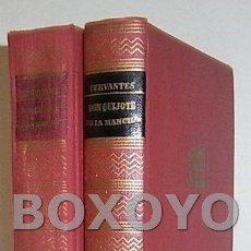 Libros de segunda mano: CERVANTES, MIGUEL DE. EL INGENIOSO HIDALGO DON QUIJOTE DE LA MANCHA. 2 TOMOS. Lote 58242957