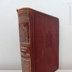 Libros de segunda mano: AGUILAR. PLATERO Y YO. JUAN RAMON JIMENEZ. CRISOLIN NUMERO 07. AÑO 1953. Lote 58282786