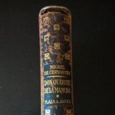 Libros de segunda mano: DON QUIJOTE DE LA MANCHA TOMO I. MIGUEL DE CERVANTES. PLAZA JANES 1961 PRIMERA EDICION.. Lote 58394165