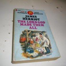 Libros de segunda mano: G-58 LIBRO JAMES HERRIOT THE LORD GOD MADE THEM ALL EN INGLES. Lote 58440658