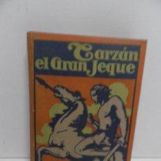 Libros de segunda mano: TARZÁN EL GRAN JEQUE.-AÑO 1947.-EDGAR RICE BURROUGHS...GUSTAVO GILI,EDITOR. Lote 58448856