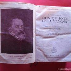 Libros de segunda mano: DON QUIJOTE DE LA MANCHA MIGUEL DE CERVANTES GUSTAVO DORE 1947 IV CENTENARIO EDITORIAL CASTILLA. Lote 58525792