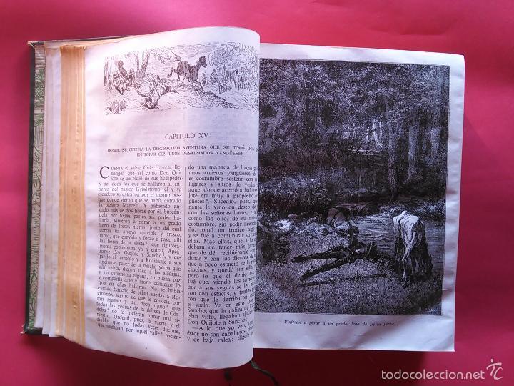 Libros de segunda mano: DON QUIJOTE DE LA MANCHA MIGUEL DE CERVANTES GUSTAVO DORE 1947 IV CENTENARIO EDITORIAL CASTILLA - Foto 2 - 58525792