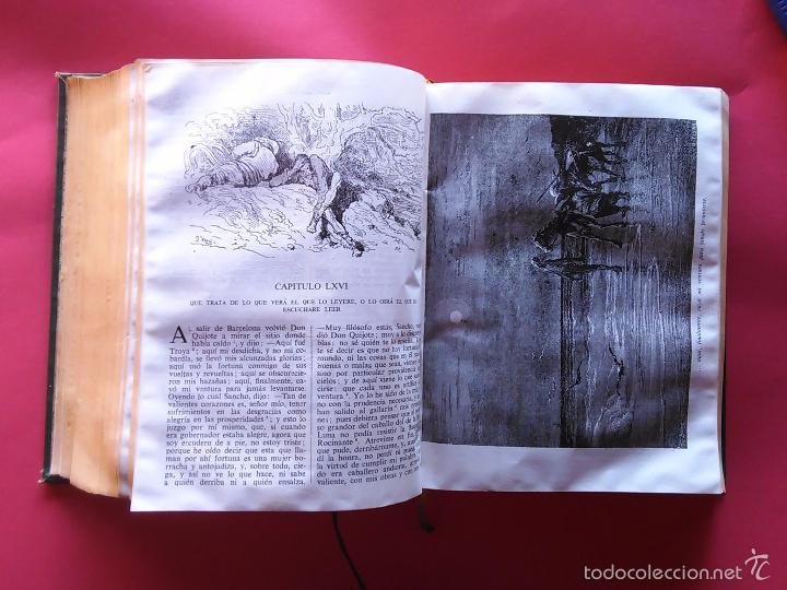 Libros de segunda mano: DON QUIJOTE DE LA MANCHA MIGUEL DE CERVANTES GUSTAVO DORE 1947 IV CENTENARIO EDITORIAL CASTILLA - Foto 3 - 58525792