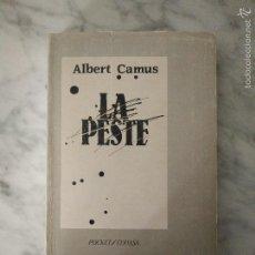 Libros de segunda mano: ALBERT CAMUS - LA PESTE. Lote 58595816