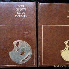 Libros de segunda mano: DON QUIJOTE DE LA MANCHA - 2 TOMOS - ILUSTRADO POR GREGORIO PRIETO - 1976. Lote 117016411