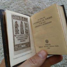 Libros de segunda mano: CRISOLÍN ORIGINAL LAZARILLO DE TORMES. COLECCIÓN CRISOL. AGUILAR 1956. Lote 60429714