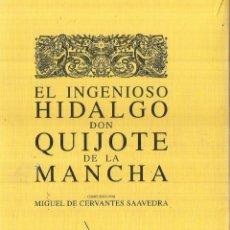 Libros de segunda mano: DON QUIJOTE DE LA MANCHA MIGUEL DE CERVANTES. POR FASCÍCULOS EN CAJA. JUNTA DE CASTILLA Y LEÓN.2005. Lote 60765131