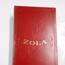 Libros de segunda mano: EMILE ZOLA. OBRAS INMORTALES EDAF. TDKLT. Lote 60833591