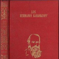 Libros de segunda mano: DOSTOIEVSKY : LOS HERMANOS KARAMAZOV (PÉREZ DEL HOYO, 1967). Lote 60858647
