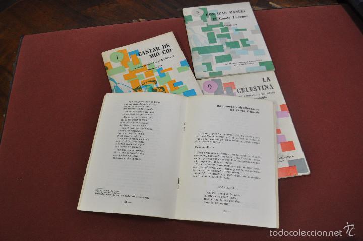 Libros de segunda mano: lote 4 libros colección primera biblioteca literatura española , antologia - CLB - Foto 3 - 61149235