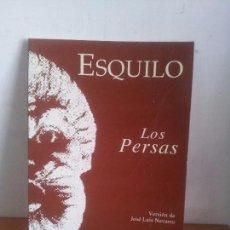 Libros de segunda mano: LOS PERSAS. ESQUILO. Lote 61597492