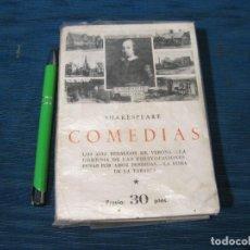 Libros de segunda mano: SHAKESPEARE COMEDIAS. EDICIONES IBERICAS. Lote 62033340