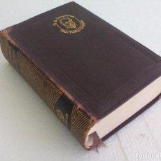 Libros de segunda mano: RAMÓN DE CAMPOAMOR. OBRAS POÉTICAS COMPLETAS. EDITORIAL AGUILAR 1951. 6ª EDICIÓN. Lote 62737012