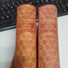Libros de segunda mano: PIO BAROJA OBRAS COMPLETAS Nº 1 Y VI - BIBLIOTECA NUEVA MADRID. Lote 63286047
