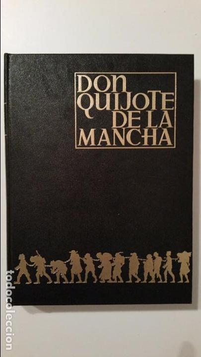 DON QUIJOTE DE LA MANCHA CERVANTES ILUSTRADO POR SEGRELLES. AFANIAS ESPASA-CALPE SOLO PRIMER TOMO (Libros de Segunda Mano (posteriores a 1936) - Literatura - Narrativa - Clásicos)