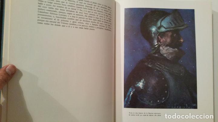 Libros de segunda mano: DON QUIJOTE DE LA MANCHA CERVANTES ILUSTRADO POR SEGRELLES. AFANIAS ESPASA-CALPE SOLO PRIMER TOMO - Foto 3 - 64120635