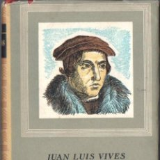 Libros de segunda mano: JUAN LUIS VIVES : DIÁLOGOS (IBERIA, 1957) . Lote 64589639