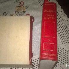 Libros de segunda mano: ARMANDO PALACIO VALDES, OBRAS COMPLETAS I -NOVELAS. Lote 65117443