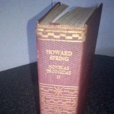 Libros de segunda mano: HOWARD SPRINGS-NOVELAS ESCOGIDAS- TOMO II. Lote 65433967