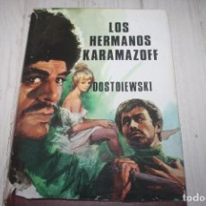 Libros de segunda mano: LOS HERMANOS KARAMAZOV - DOSTOIEWSKI - CLÁSICOS PETRONIO - NOVELA - TAPA DURA C/ SC. Lote 66046470