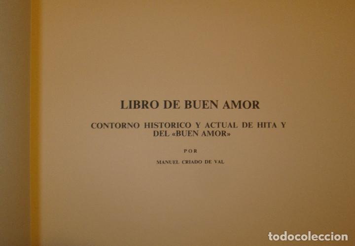 Libros de segunda mano: Libro del buen amor. Arcipreste de Hita - 3 t.(Contorno,Transcripción,Facsimil) - Espasa Calpe 1977 - Foto 3 - 67499925