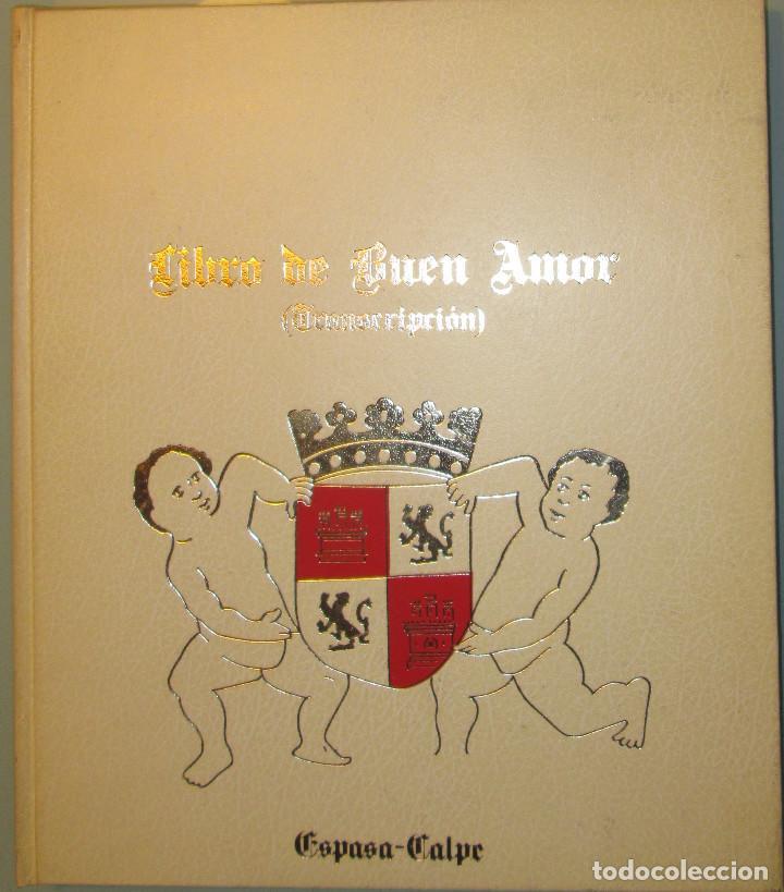 Libros de segunda mano: Libro del buen amor. Arcipreste de Hita - 3 t.(Contorno,Transcripción,Facsimil) - Espasa Calpe 1977 - Foto 6 - 67499925