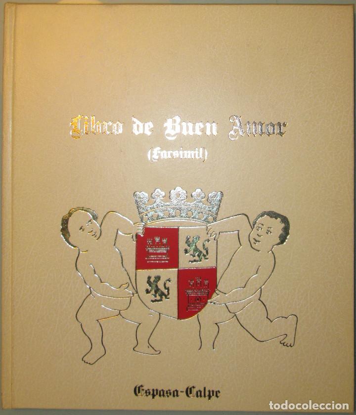 Libros de segunda mano: Libro del buen amor. Arcipreste de Hita - 3 t.(Contorno,Transcripción,Facsimil) - Espasa Calpe 1977 - Foto 10 - 67499925