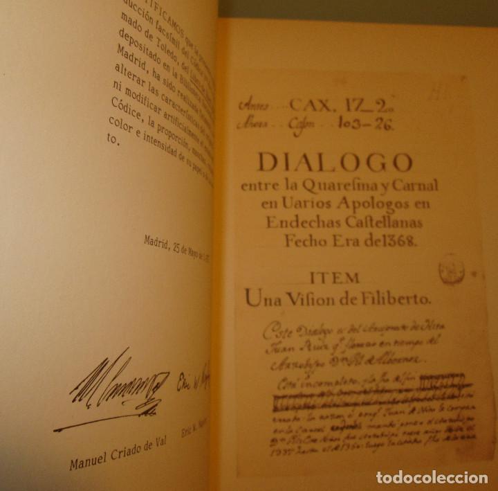 Libros de segunda mano: Libro del buen amor. Arcipreste de Hita - 3 t.(Contorno,Transcripción,Facsimil) - Espasa Calpe 1977 - Foto 11 - 67499925